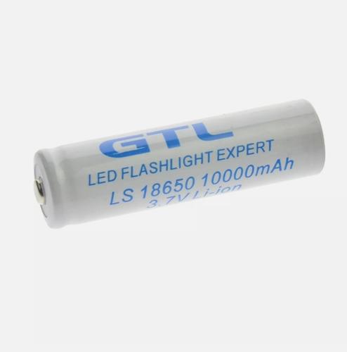 Imagen 1 de 9 de Batería Pila 18650 Recargable 10000 Mah 3.7v  Li-ion