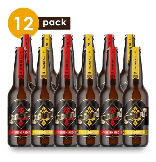 Cerveza Artesanal Malaventura Cervexxa Beerpack 12