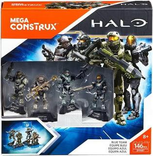 Mega Construx Halo/equipo Azul/coleccionable
