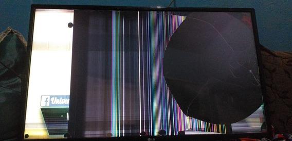 Tv Lg Digital Com A Tela Quebarda 43 Polegada