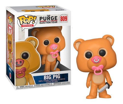 Imagen 1 de 1 de Big Pig The Purge - Funko Pop Original