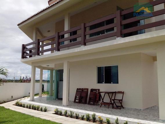 Casa Mobiliada Para Venda Ou Locação - Loteamento Praia Bela - Pitimbú - Pb - Ca0201