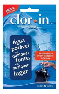 Clorin 1 Pastilhas Purificadoras De Água Clorin