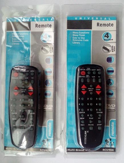 Control Remoto Universal Rca Modelo Rcu 404 Detal Y Mayor