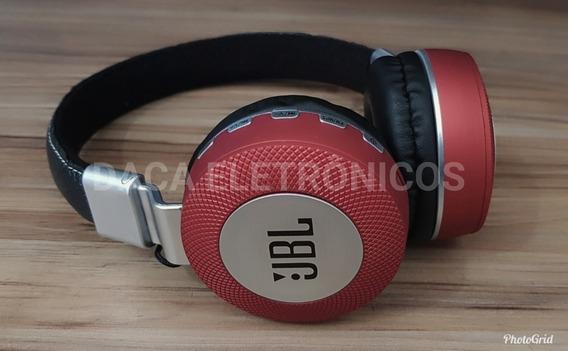 Fone Bluetooth Jbl Headfone Estéreo Sem Fio Mp3 K3 Cartao 16