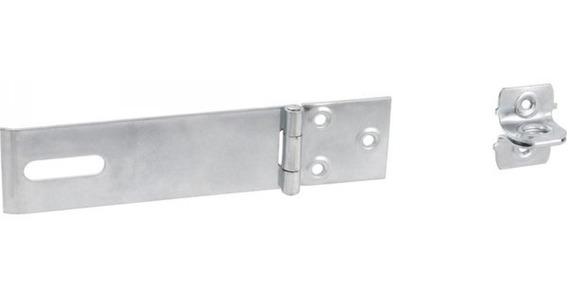 Porta Cadeado Zincado 5 Encartelado Vonder 4 Unidade Hb