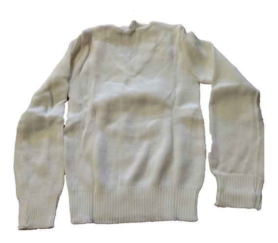 Suéter Cerrado Unisex Cuello V