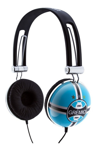 Fone De Ouvido Headphone Oficial Grêmio