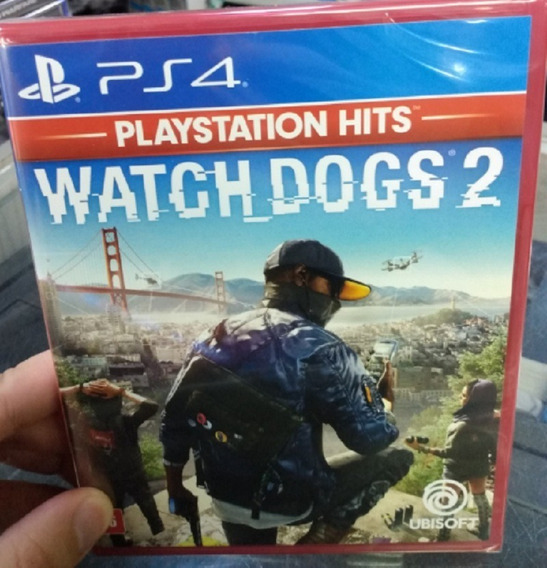 Watch Dogs 2 Ps4 Mídia Física Novo Pronta Entrega Original