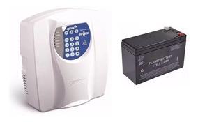 Central Alarme Genno Inform Ultra 4+2 Setores Com Bateria