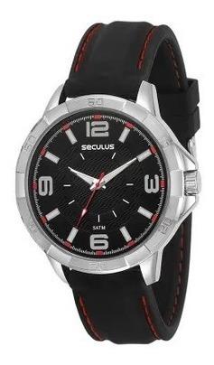 Relógio De Pulso Masculino Seculus Cód. 23613gosvni1