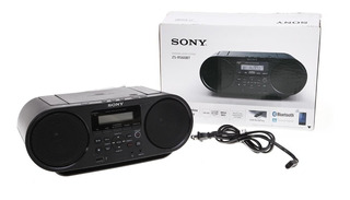 Radio Portatil Sony Bluetooth ,cd, Usb Full Completo Grabado