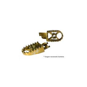 Pedaleira Cross Suz-rmz450 08 Dourada Moto X