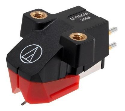 Cápsula Audio Technica At-vm95ml Vermelha Microlinear