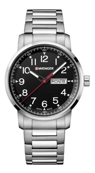 Relógio Masculino Suíço Wenger Linha Atitude 42mm 011541.107