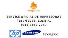 Reparación Service De Impresoras Plotters Hp Lexmark Samsung