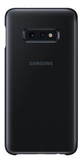 Capa Protetora Samsung Galaxy S10e Clear View Preto