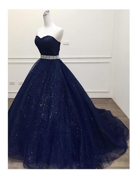 Vestido Azul Increíble Promoción