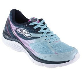 Zapatillas Olympikus Like 383 Sky Blue/marinho
