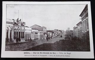 Rio Grande Do Sul, Bagé - Cartão Postal Antigo Original