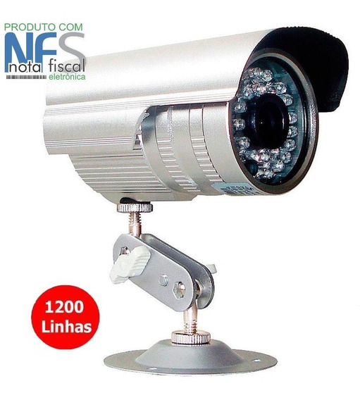 Câmera Cftv 36 Leds Infravermelho Segurança 1200 Linhas Ahd