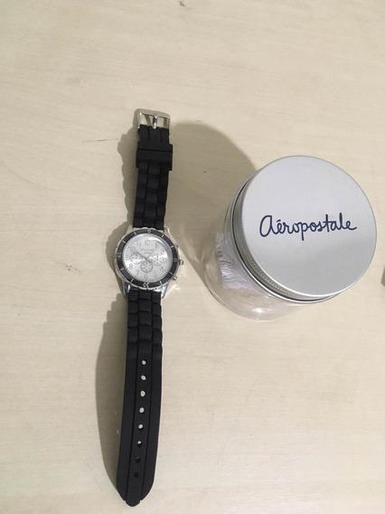Relógio Aeropostale Original Quartz Pulseira Silicone