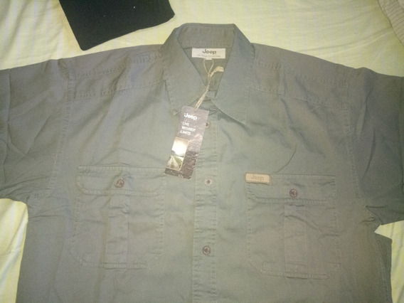 Camisa Jeep Outdoor Collection Talla S