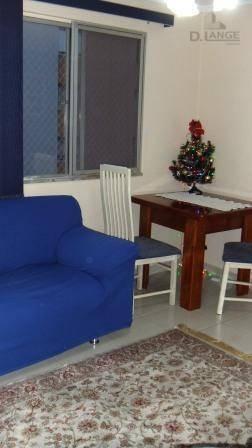 Imagem 1 de 12 de Apartamento Com 2 Dormitórios À Venda, 49 M² Por R$ 165.000 (urgente). Jardim Do Lago - Campinas/sp - Ap8799