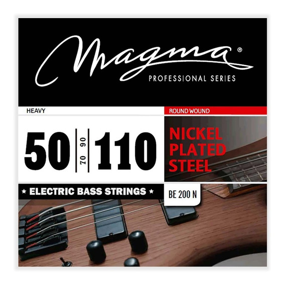 Encordado Bajo Electrico Magma 050 Be200 4 Cuerdas - Oddity