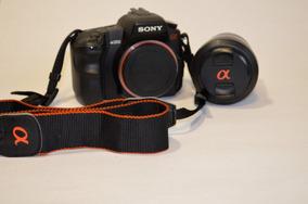 Câmera Sony Alpha200