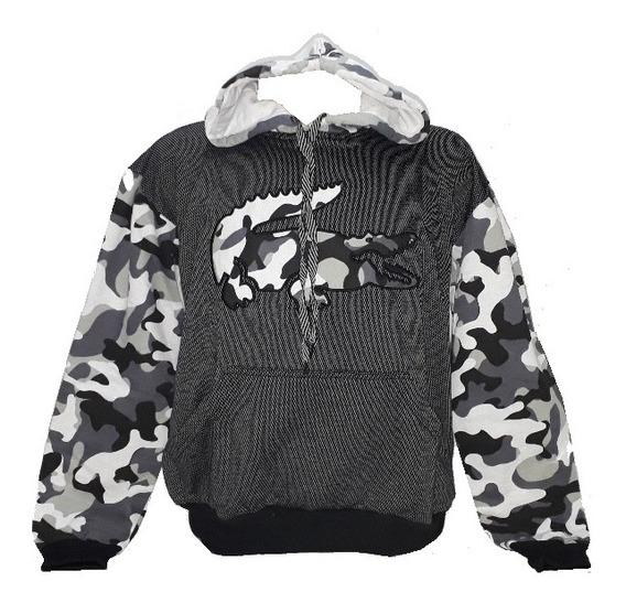 Blusa Moleton Casaco Masculino Unisex Lacoste adidas