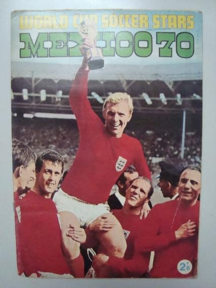 Album De Figurinhas Copa Do Mundo Fifa México 1970