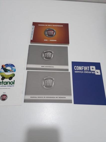 Manual Do Proprietário Fiat Uno Fiorino Orig. Perfeito