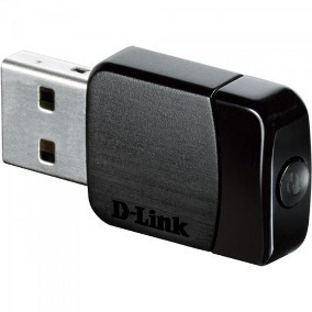 Wireless Rede Nano Usb 600mb Dwa-171 D-link (13219)