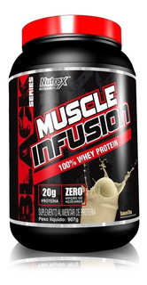 Muscle Infusion 100% Whey Protein 900g - Nutrex - Sem Juros
