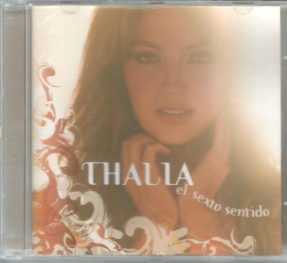 Cd - Thalia - El Sexto Sentido - Lacrado