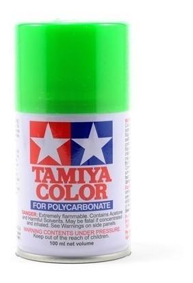 Ps-28 Tinta Tamiya Spray Verde Fluorescente 100ml P/bolha