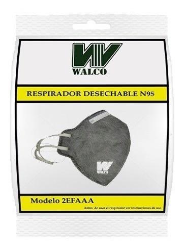 Mascarilla Descartable Con Carbon Activado Niosh N95,