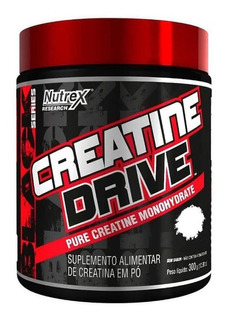 Creatine Drive Nutrex Creatina Em Pó Pura Monohidratada 300g