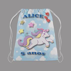 Lembrancinha Aniversario Personalizada 20pcs Unicornio