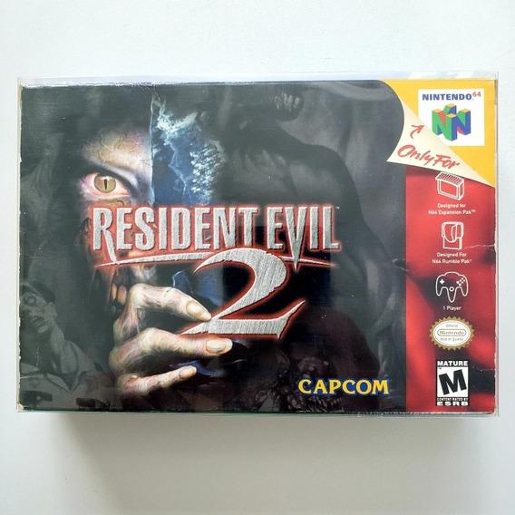 Resident Evil 2 Original Cib Completa N64 Nintendo 64