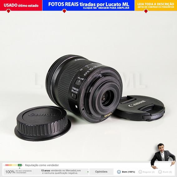 Lente Usada Canon Efs 10-18mm Is Stm Usada Excelente 2b