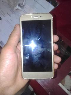 Celular Moto C Plus 16gb Dourado Problema Só Conector