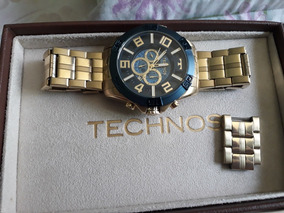 Relógio Technos Legacy Masculino Dourado Original