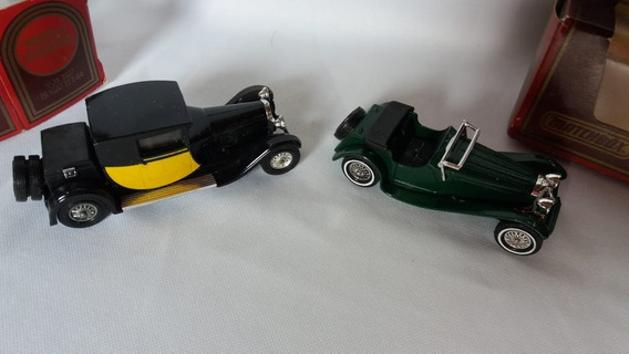 2 Matchbox Models Of Yesteryear Burgattit 44 E Jaguar Ss-100