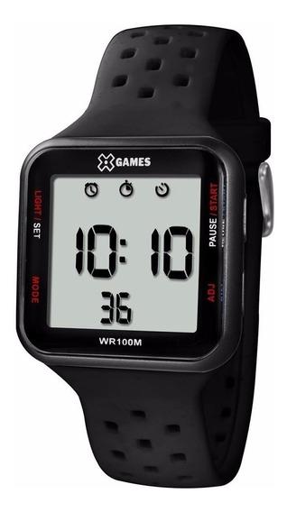 Relógio X-games Digital Quadrado Original C/ Caixinha E Nf-e