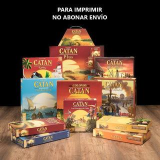 Catan + Todas Las Expansiones + Ampliaciones (para Imprimir)
