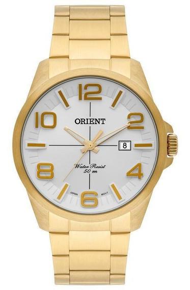 Relógio Orient Analógico Mgss1123 S2kx Dourado