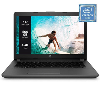 Notebook Hp 240 G6 Intel Dual Core N4000 4gb 500gb