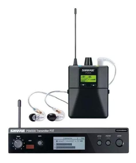 Transmissor In-ear Shure Psm300 P3tbr215 Cl-k12